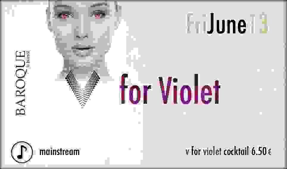 BAROQUE: V FOR VIOLET