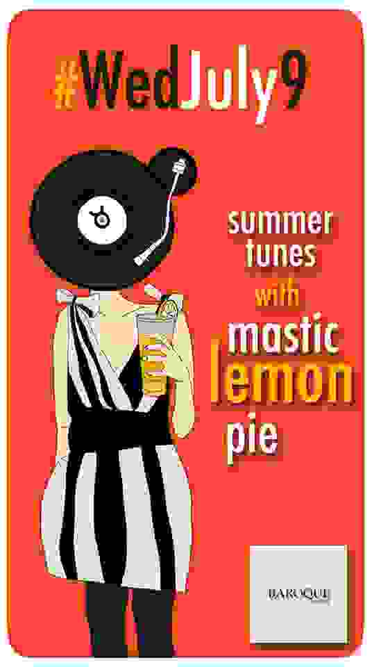 BAROQUE: MASTIC LEMON PIE