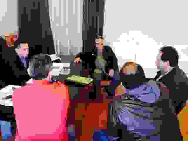 ΣΥΝΑΝΤΗΣΗ ΑΝΤΙΔΗΜΑΡΧΟΥ ΑΡΓΟΣΤΟΛΙΟΥ-ΚΡΕΟΠΩΛΩΝ-ΣΤΗΝ ΤΕΛΙΚΗ ΕΥΘΕΙΑ ΓΙΑ ΤΑ ΣΦΑΓΕΙΑ
