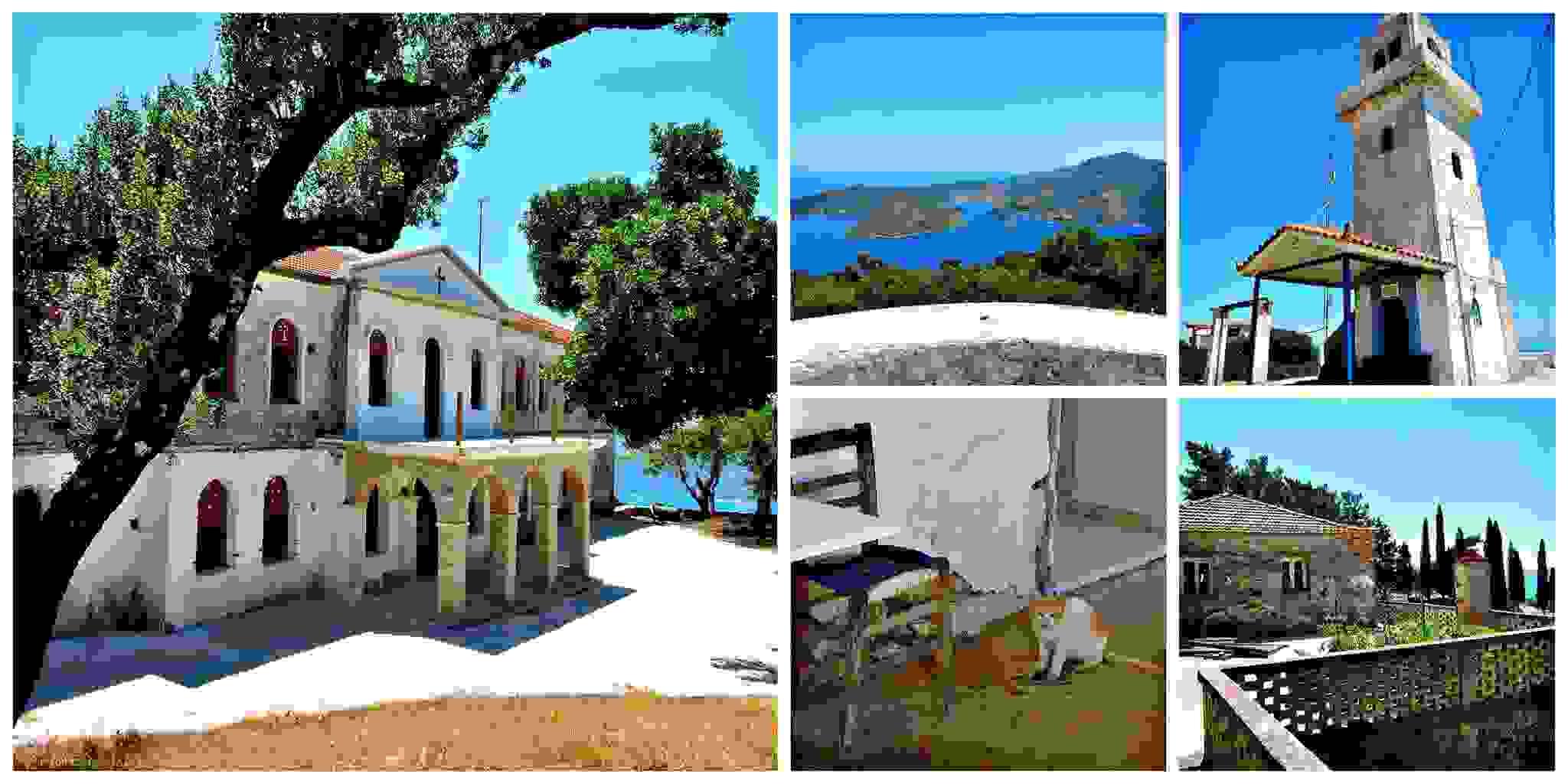 Ιερά Μονή Παναγίας Καθαρών στην Ιθάκη – με θέα τον απέραντο ορίζοντα του Ιονίου! Γράφει η Αναστασία Κανάκη