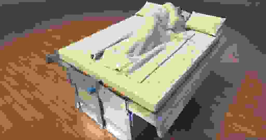 Κρεβάτι για προστασία ακόμη και από τον πιο καταστροφικό σεισμό!