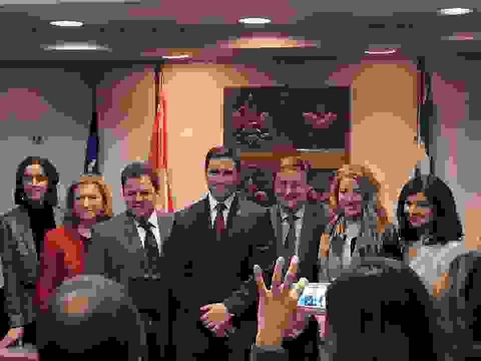 Η οργανωμένη ελληνική παροικία Καλοσώρισε τον εκλεγμένο Παναγιώτη Φραγκισκάτο Στο Μόντρεαλ
