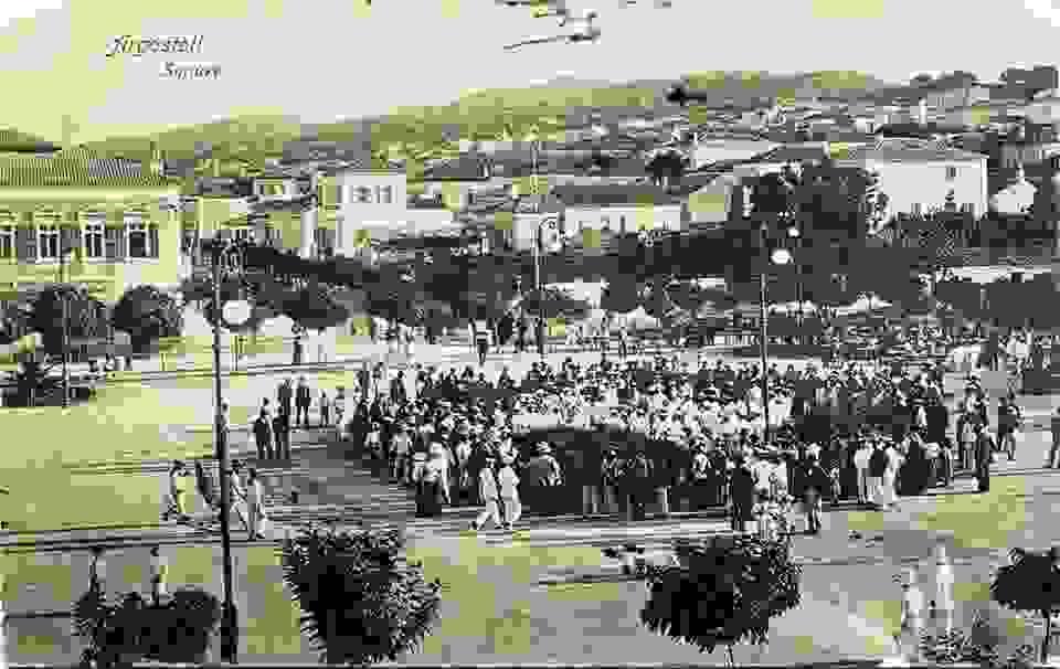 ΑΡΓΟΣΤΟΛΙ: Η ΚΕΝΤΡΙΚΗ ΠΛΑΤΕΙΑ ΚΑΠΟΥ ΣΤΟ 1916-17
