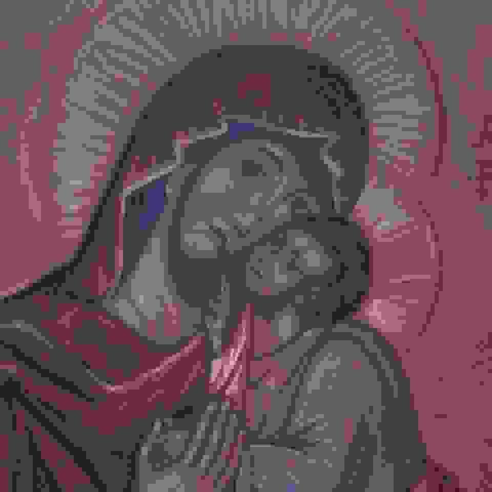 Έκθεση αγιογραφίας της Μαριλένας Φωκά στο χώρο τέχνης Δεληολάνης