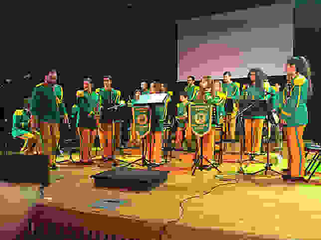 Αρωμα Ιονίου από τους μικρούς μουσικούς της Φιλαρμονικής της Σάμης στην Αργυρούπολη