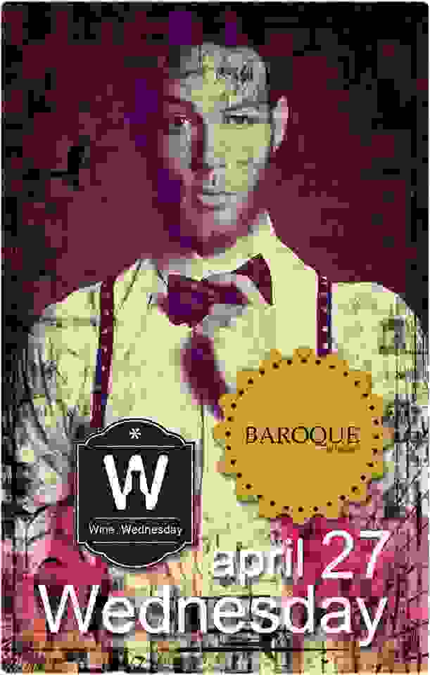 BAROQUE: Wine party 2night!