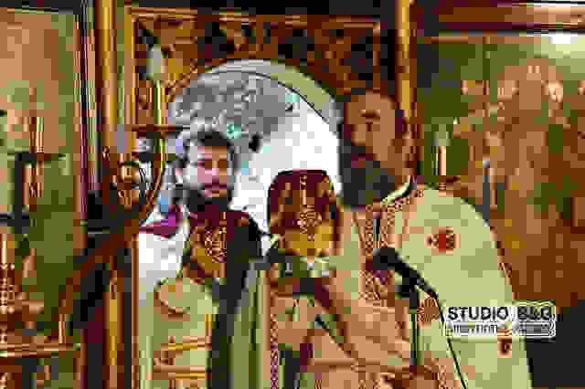 Ιερά αγρυπνία για τον Άγιο Παναγή Μπασιά στο Ναύπλιο