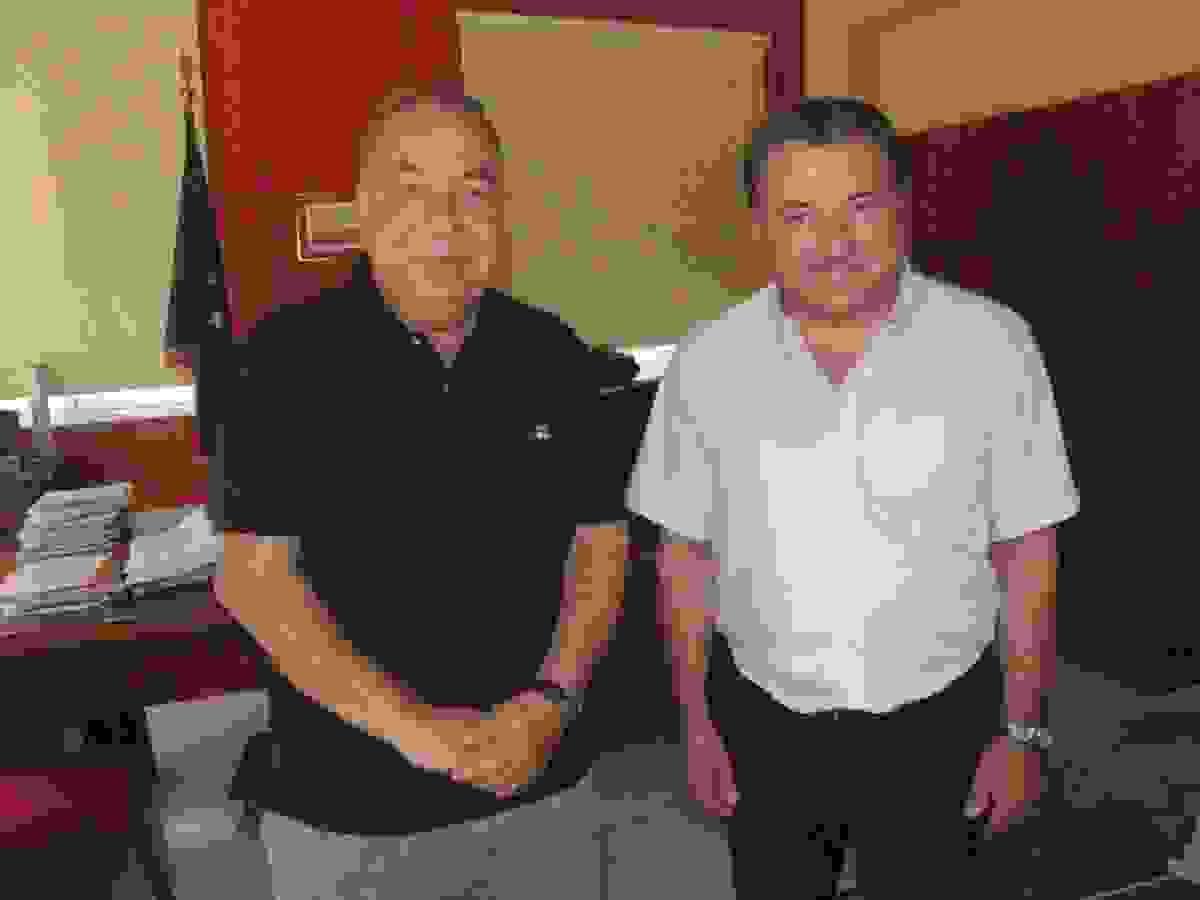 Επίσκεψη του πρ. Υφυπουργού Πολιτισμού-Τουρισμού  Π. Αλιβιζάτου στον Περιφερειάρχη Ιονίων Νήσων