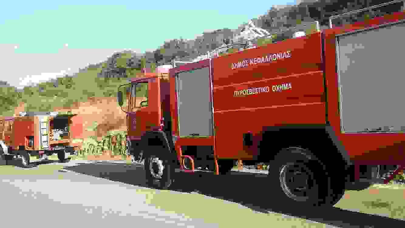 """Φωτιά στα ΜΑΖΑΡΑΚΑΤΑ:  """"Παρών"""" και η πολιτική προστασία του Δήμου!!!!"""