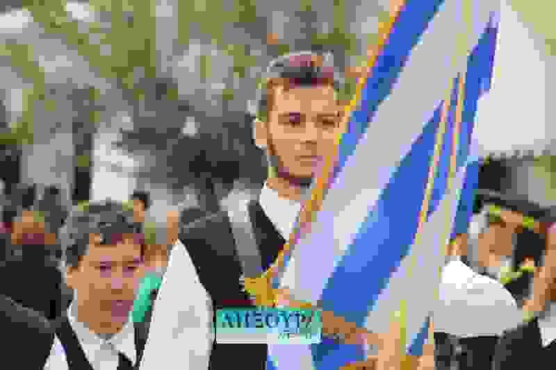 Κανονικά και χωρίς προβλήματα η μαθητική παρέλαση στο Ληξούρι (εικόνες)