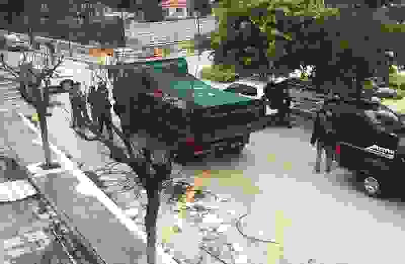 Απρόσκοπτα συνεχίζονται τα έργα στο Αργοστόλι….παρά τους ελέγχους (video)