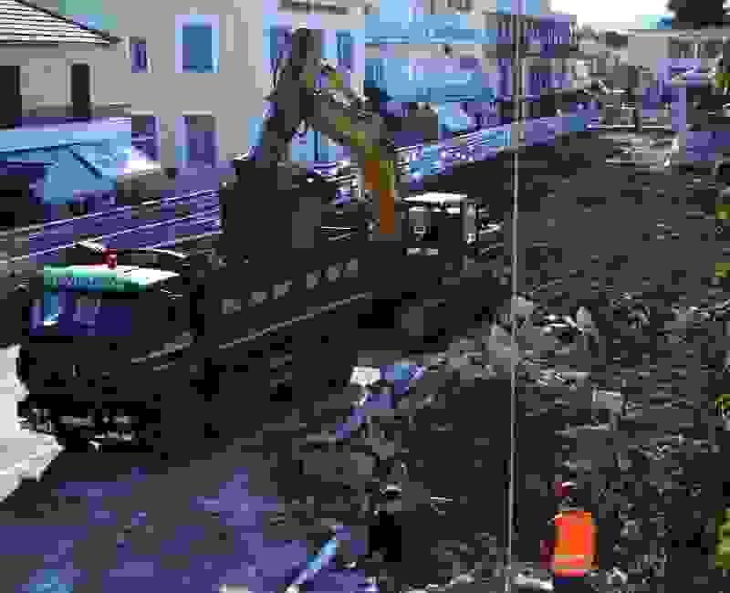 Εντυπωσιακή η πρόοδος στην οδό Βαλλιάνου – αυτοψία Λυκούδη τώρα!