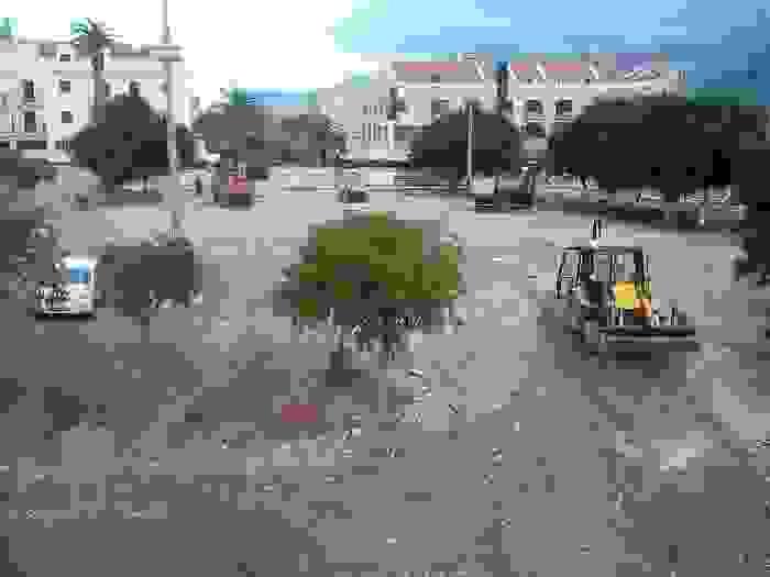 ΠΡΟΧΩΡΑΝΕ ΤΑ ΕΡΓΑ ΣΤΟ ΙΣΤΟΡΙΚΟ ΚΕΝΤΡΟ ΤΟΥ ΑΡΓΟΣΤΟΛΙΟΥ-ΣΤΟ ΕΡΓΟΤΑΞΙΟ ΚΑΙ ΟΙ ΓΡΑΝΙΤΕΣ (ΒΙΝΤΕΟ)