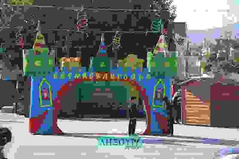 Η Καρναβαλούπολη από ψηλά (βίντεο)