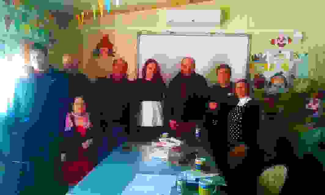 """Συνάντηση της Αντιδημάρχου Οικονομικών κ. Σοφίας Γαρμπή, του Αντιδημάρχου κ. Αλέξη Μοσχονά και του Προϊσταμένου Πρόνοιας κ. Δημήτρη Δημουλιού με το Δ.Σ. της Ένωσης Α.μεΑ. """"ΥΠΕΡΙΩΝ"""