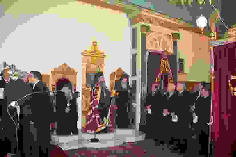 Με μεγαλοπρέπεια ο Εσπερινός στον Άγιο Χαράλαμπο Ληξουρίου