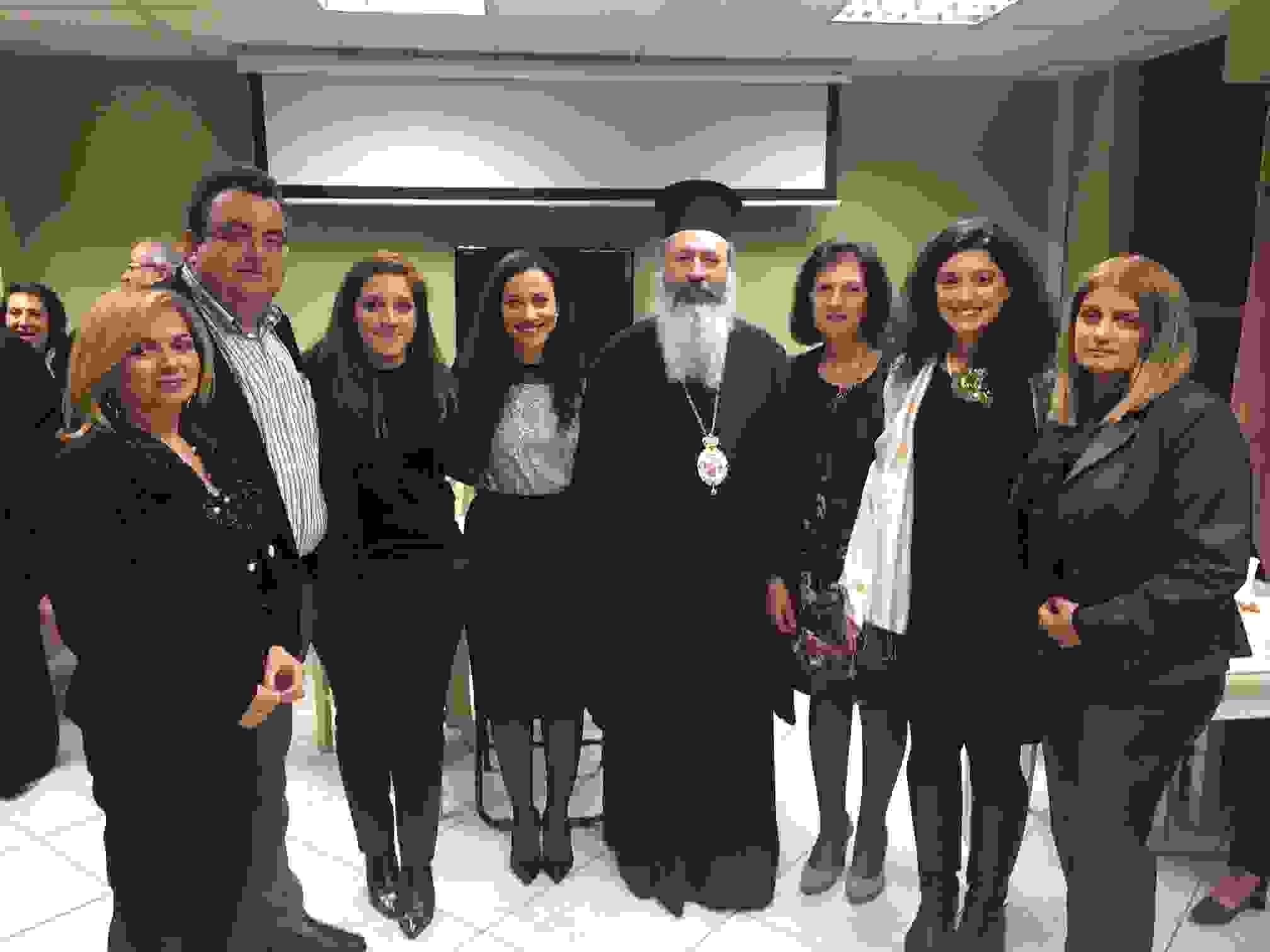Εντυπωσιασμένος ο Δεσπότης με τους Κεφαλλονίτες της Αθήνας