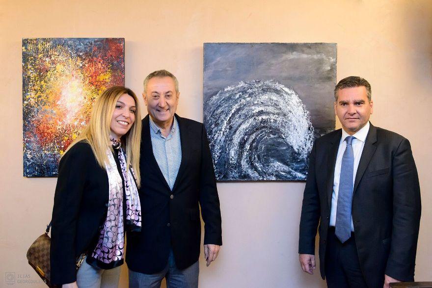 Μια βραδιά για τον Ανδρέα Κωνσταντάτο-Η τέχνη, η δημοσιογραφία και η πολιτική [εικόνες]