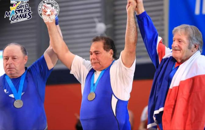 """""""Χρυσός"""" ο Σάββας Καππάτος στο Παγκόσμιο Πρωτάθλημα Άρσης Βαρών"""
