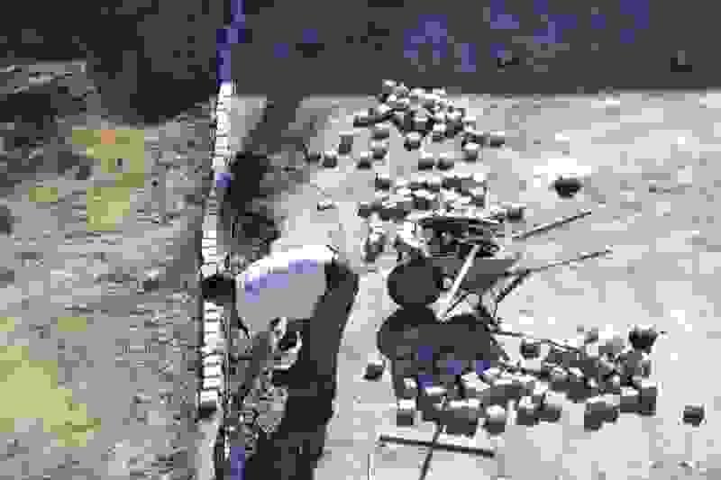 Ξεκίνησε η πλακόστρωση στην οδό Π. Βαλλιάνου -Σε 30 ημέρες η παράδοση του έργου