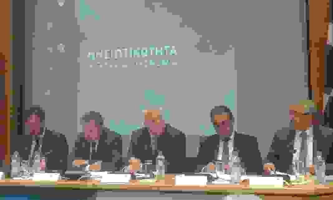 """Σε εγκάρδιο κλίμα η συνάντηση Περιφερειάρχη  & Ομοσπονδιών αποδήμων της Αττικής -Ομιλία στο συνέδριο για την """"Νησιωτικότητα  και Γαλάζια Οικονομία"""""""
