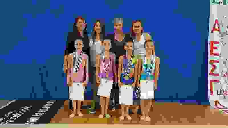 Πρόκριση στην τελική φάση με μετάλλια για τις αθλήτριες του Α.Γ.Σ. ΕΠΤΑΝΗΣΩΝ.