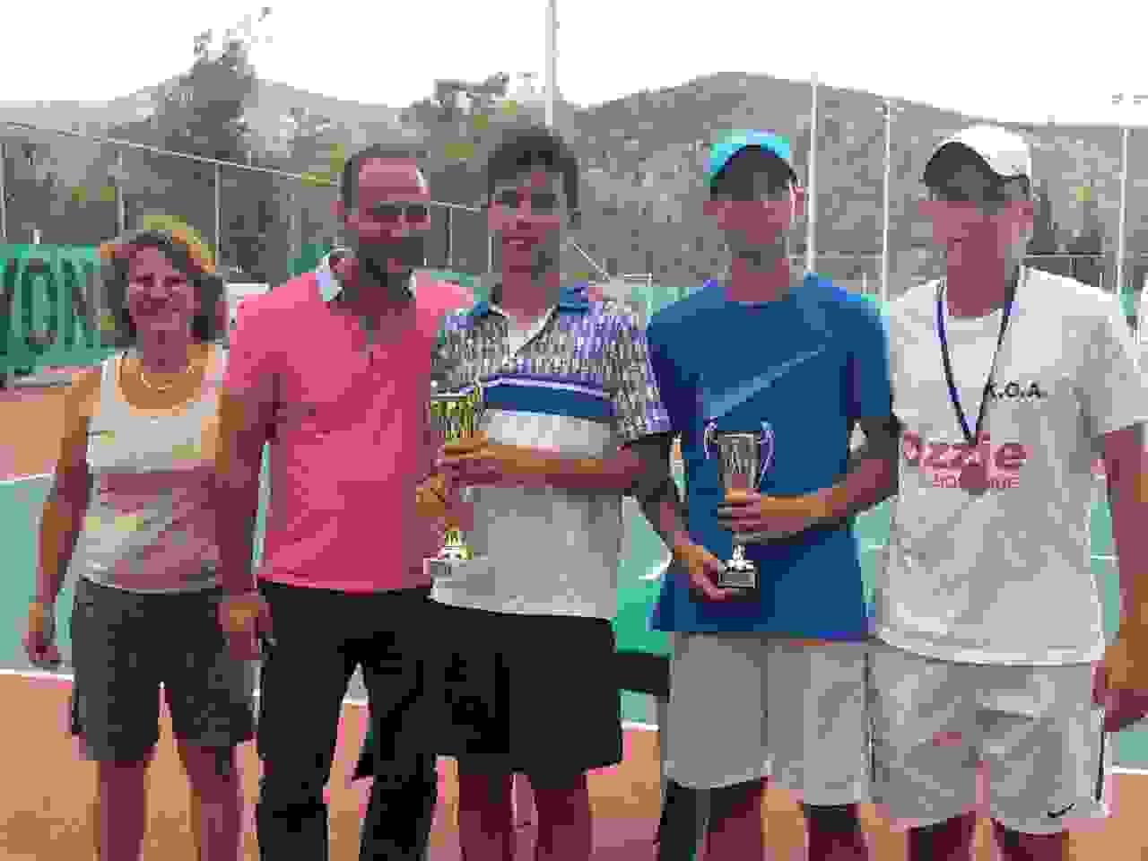 Επιτυχημένο το Ενωσιακό Πρωτάθλημα τένις στο Αργοστόλι