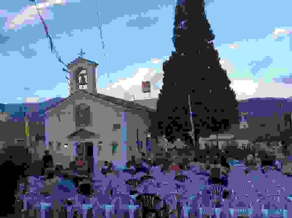 Γιορτάζει η Παναγία Ρακαντζή στο Αργοστόλι