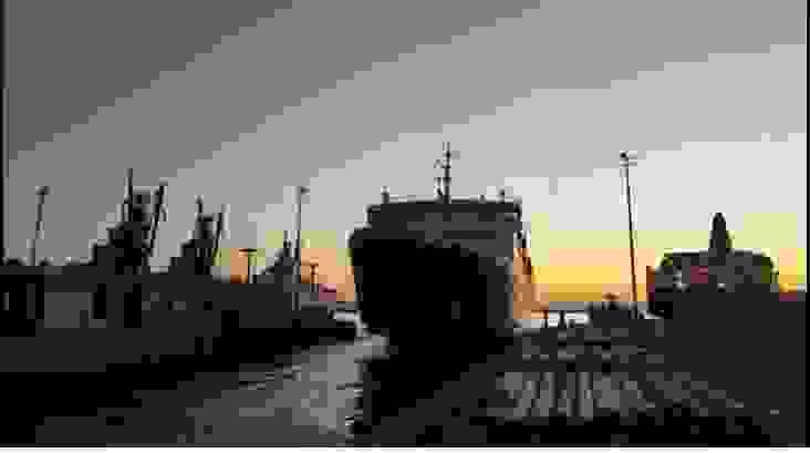 Ο αποδεξαμενισμός του Νήσος Κεφαλονια στο λιμάνι του Πειραιά [βιντεο]
