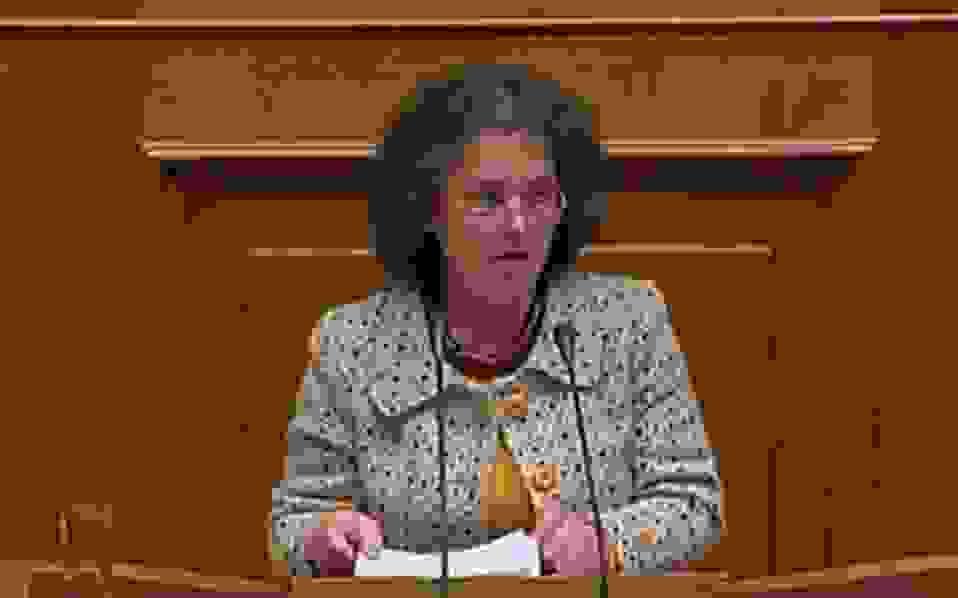 Ομιλία της Βουλευτή στη συζήτηση για τον Προϋπολογισμό του 2018