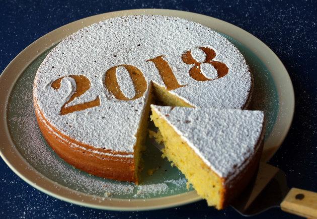 Vasilopita, A Greek Dessert Cake To Celebrate The New Year. (Christian Gooden/St. Louis Post-Dispatch/TNS Via Getty Images)
