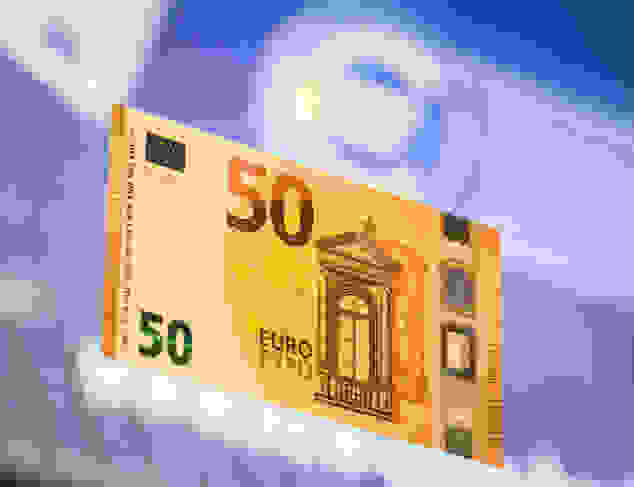 The New 50 Euro Banknote Is Presented At The Headquarters Of The European Central Bank, ECB, in Frankfurt, Central Germany, Tuesday, July 5, 2016. (Frank Rumpenhorst/dpa Via AP)