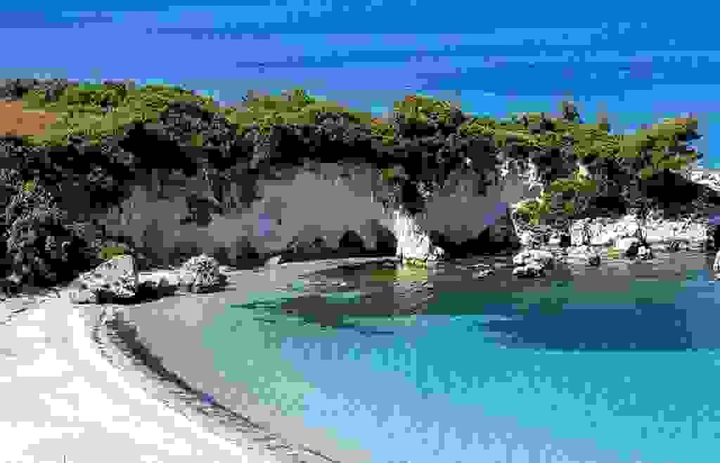 Μια μαγευτική παραλία στην Κεφαλονιά
