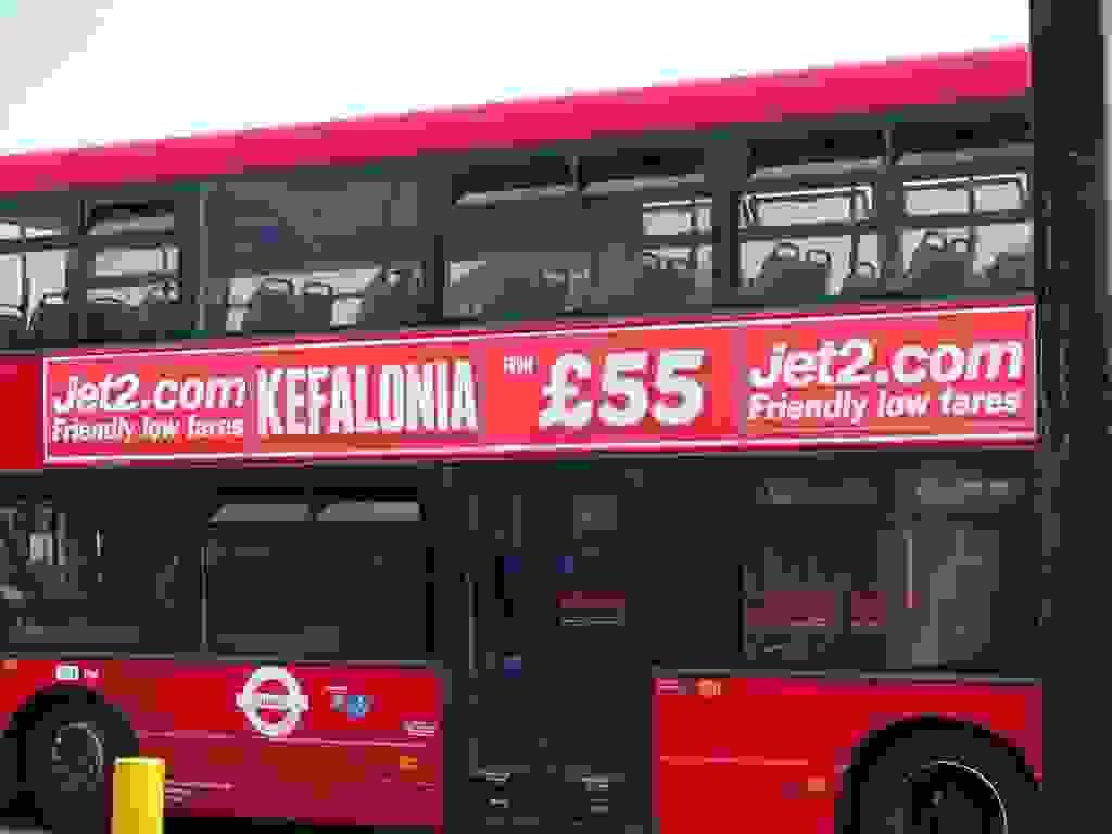 Έτοιμο το κόκκινο λεωφορείο που διαφημίζει την Κεφαλονιά στο Λονδίνο
