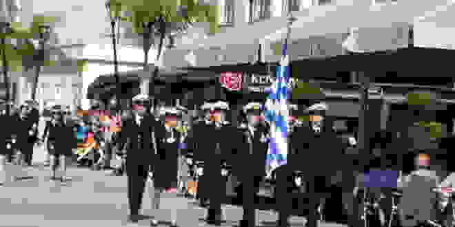 Με μεγαλοπρέπεια ολοκληρώθηκαν οι εορταστικές εκδηλώσεις για την 28η Οκτωβρίου 1940 στο Αργοστόλι