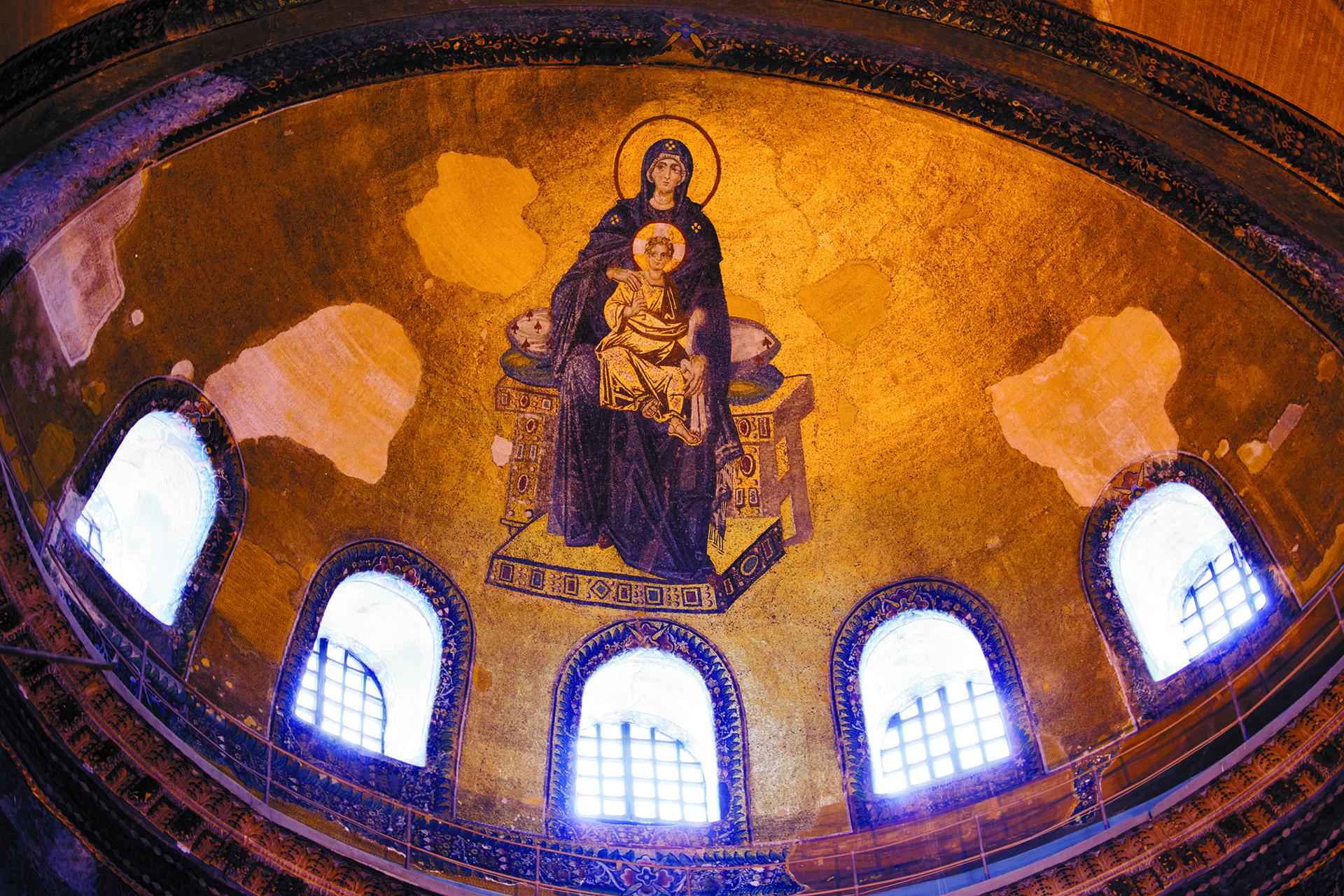 Ο ναός της Αγίας του Θεού Σοφίας στη Βασιλίδα των πόλεων