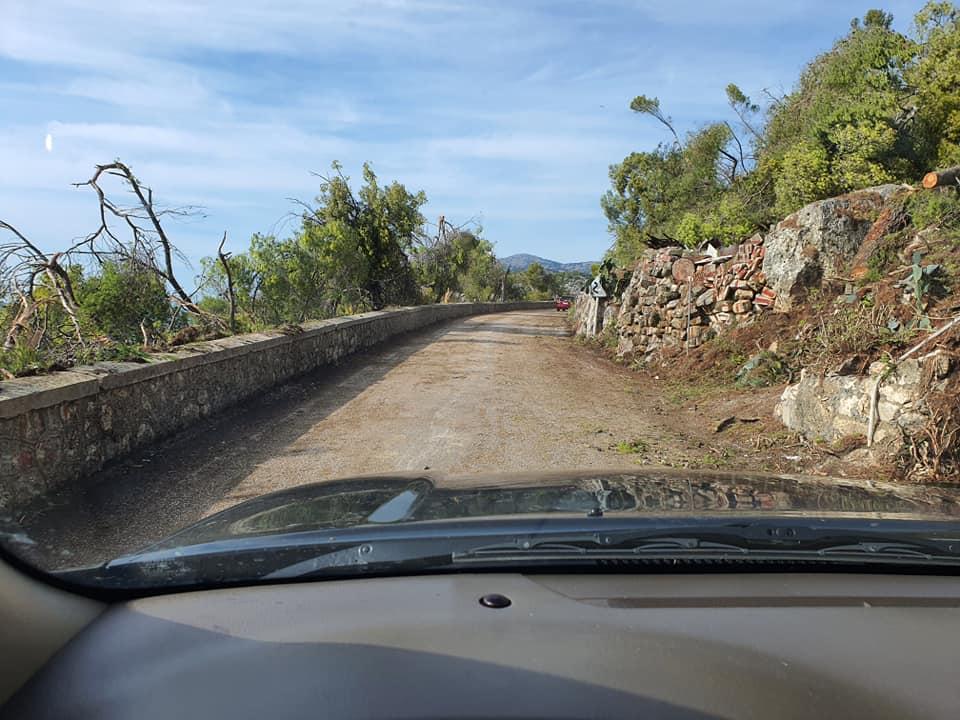 Σχεδόν όλο το επαρχιακό δίκτυο του νησιού έχει δοθεί άμεσα στην κυκλοφορία