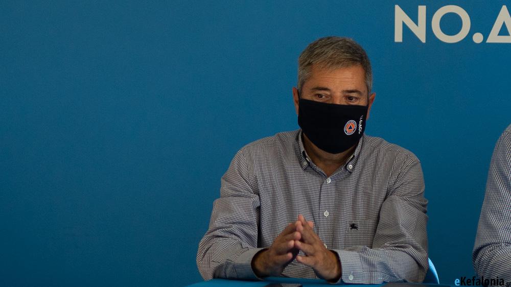 Στα γραφεία της τοπικής ΝΔ ο Γιώργος Στεργίου – Δηλώσεις στα τοπικά ΜΜΕ [εικόνες +βίντεο]