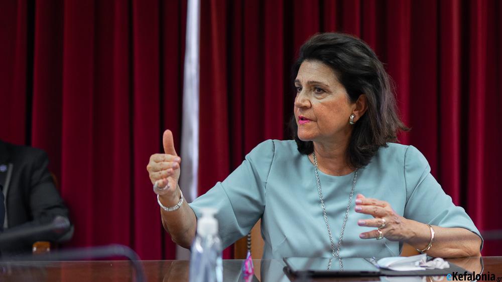 Ρόδη Κράτσα: «Ύψιστη πρόκληση για το 2021 η διατήρηση της υγειονομικής ασφάλειας στα νησιά μας»