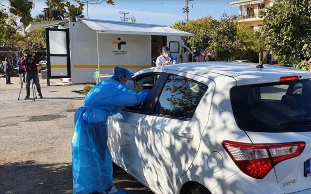 Ληξούρι: Rapid Test με τη μέθοδο Drive Through από κινητή ομάδα του ΕΟΔΥ