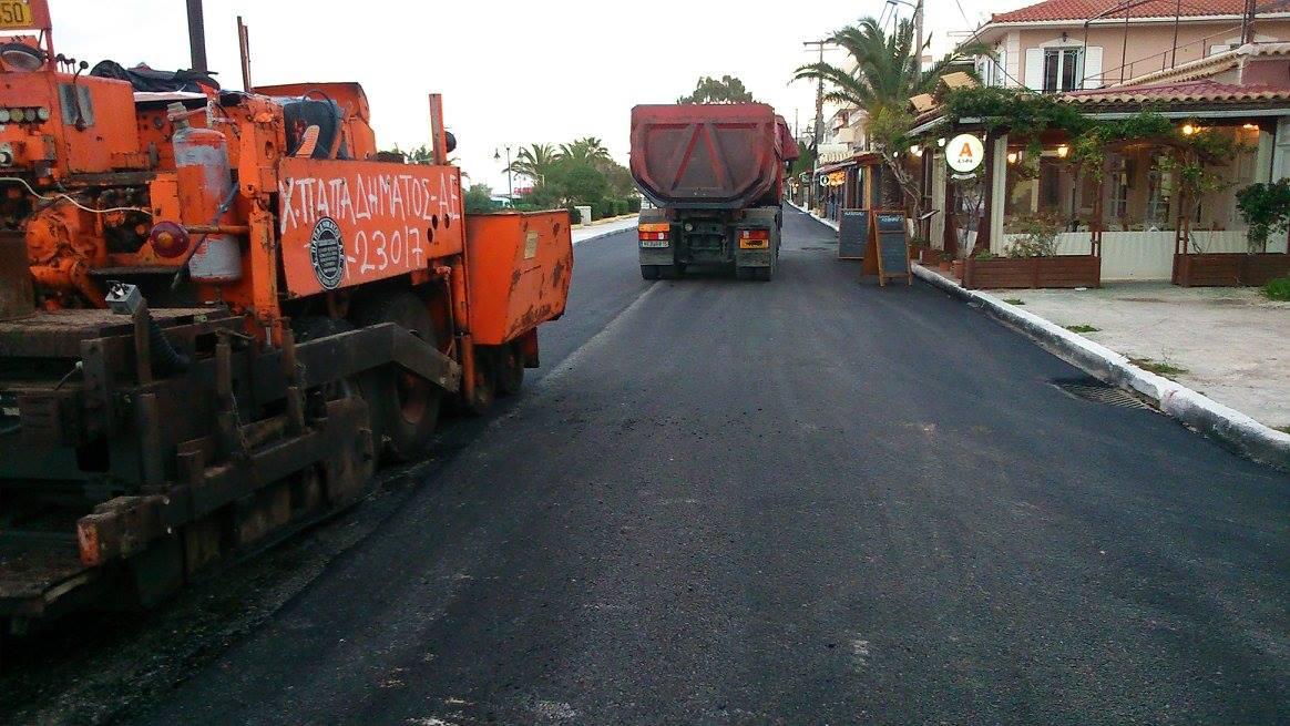 Δήμος Ληξουρίου: Ξεκινούν ασφαλτοστρώσεις σε κεντρικούς δρόμους της πόλης
