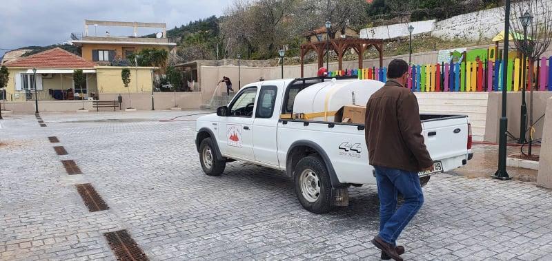 Λαμπίκο έκανε τη νέα πλατεία στα Βλαχάτα η εθελοντική ομάδα δασοπροστασίας 21ας [εικόνες]