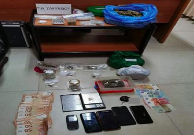Μεγάλη επιτυχία της Αστυνομίας στη Ζάκυνθο  Εξαρθρώθηκε μεγάλο κύκλωμα ναρκωτικών