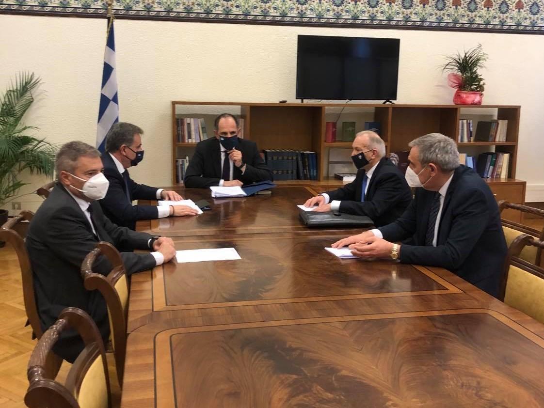 Συνάντηση των Βουλευτών Ιονίων Νήσων της ΝΔ με τον Υπουργό Επικρατείας κ