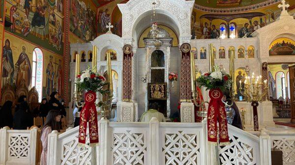Κυριακή του Θωμά στην Ιερά Μονή Αγίου Γερασίμου [εικόνες]