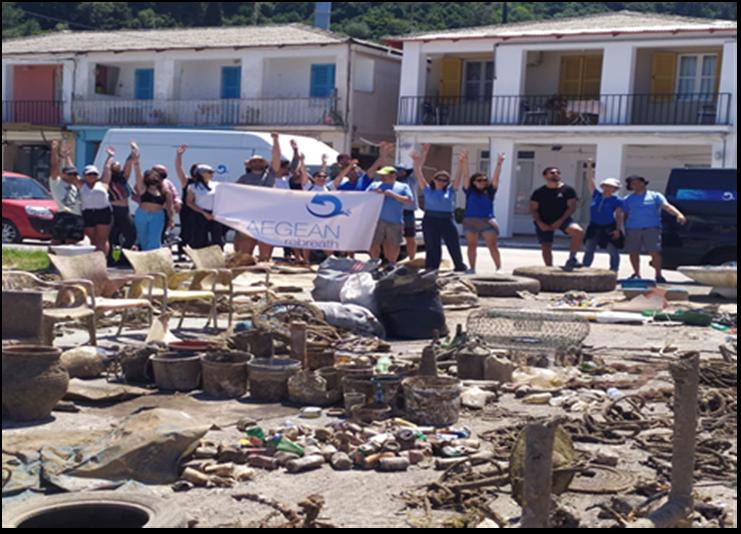 Υποβρύχιοι και παράκτιοι καθαρισμοί στο Δήμο Σάμης