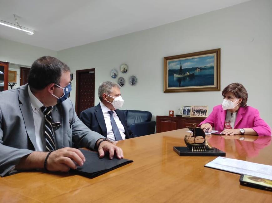 Επισκέψεις εργασίας σε Υπουργεία με τον Δήμαρχο Ληξουρίου κ