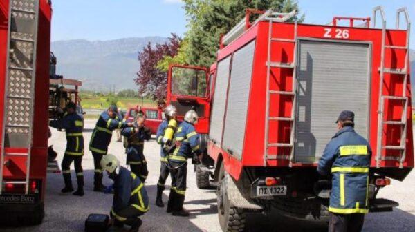 Κεφαλονιά: Φωτιά σε όχημα στα Διβαράτα-Άμεση παρέμβαση της Πυροσβεστικής