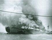 """Το ναυάγιο του """"M/V Vettor Pisani"""" (+1942) στα Λέπεδα Παλικής, Κεφαλονιά"""