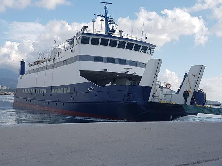 Μηχανική βλάβη Ε/Γ  Ο/Γ πλοίου στην Κεφαλλονιά